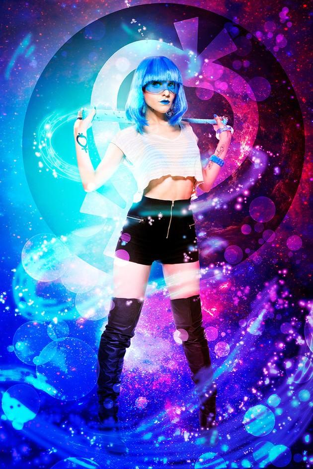 Sailor Mercury: Mandie Bettencourt, GeekyGlamorous.COM
