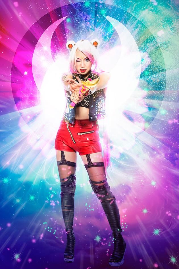 """Sailor Moon: Michelle """"Chubby Bunny"""" Nguyen, IamChubbyBunny"""