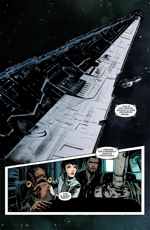 Star Wars Legacy 6 - interior preview