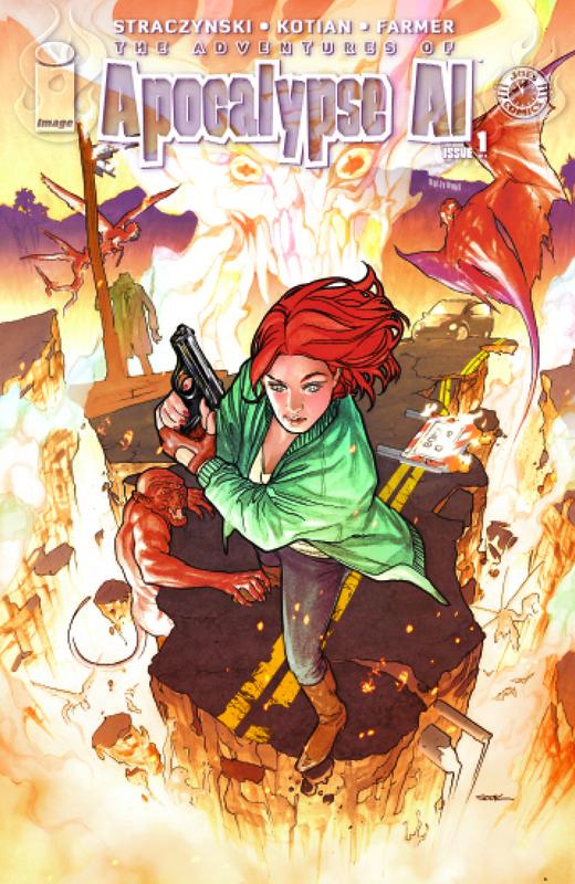 Apocalypse Al #1 Sook Cover