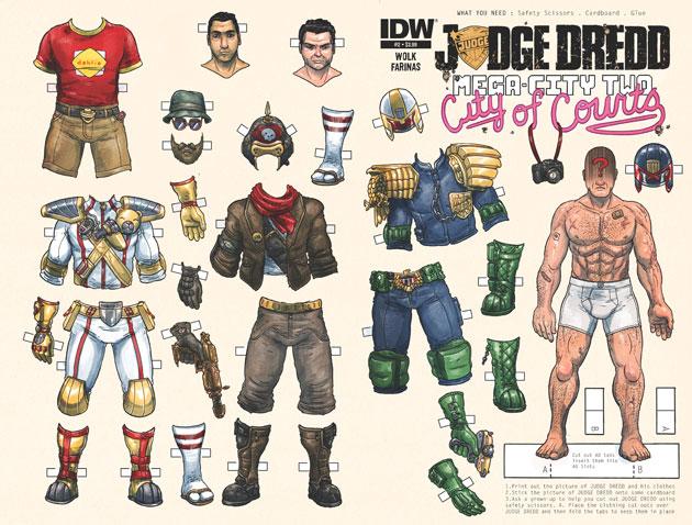 Judge Dredd: Mega City Two #2 Cover