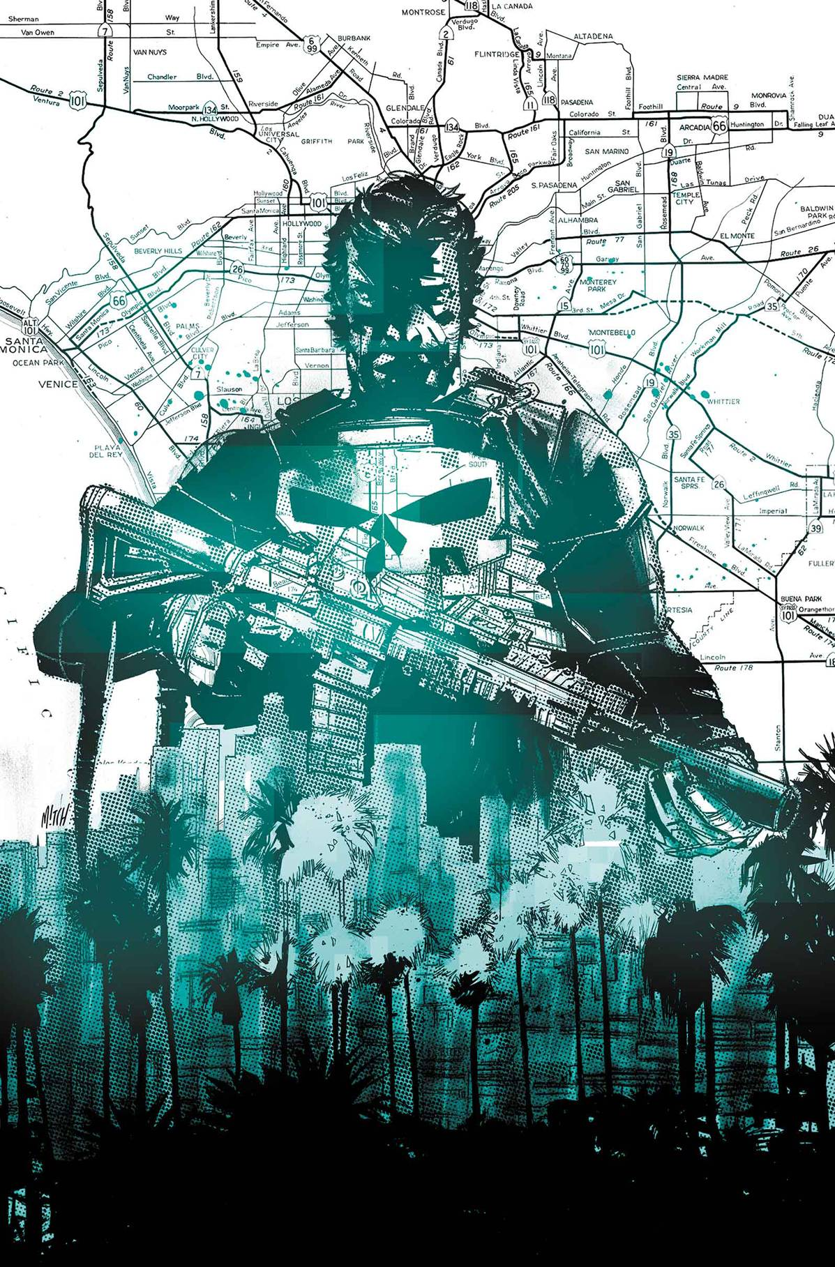 Punisher #1 Cover