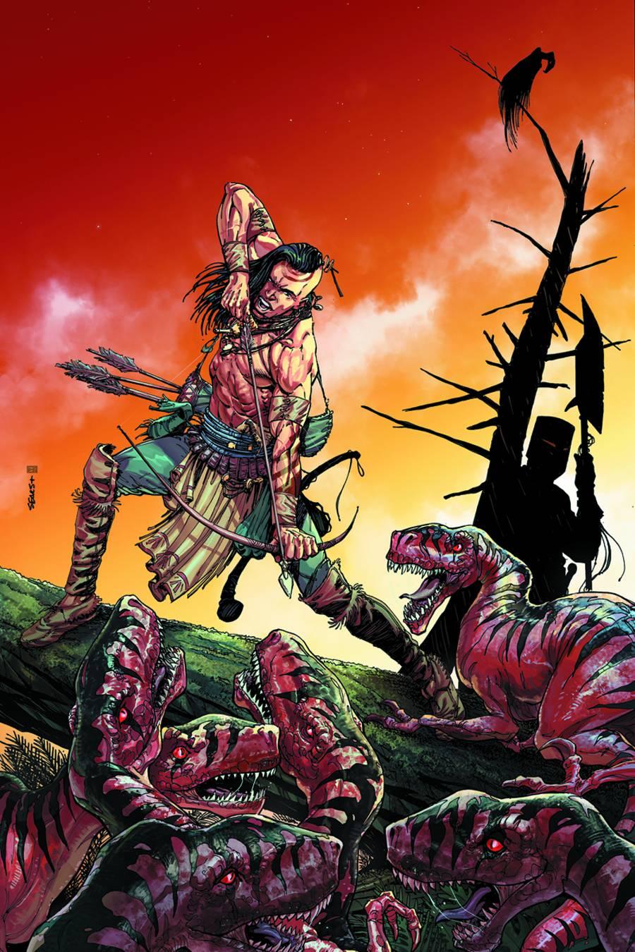 Turok: Dinosaur Hunter #1 Cover