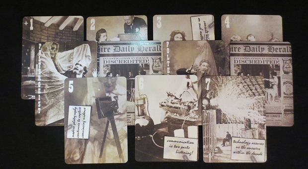 Prototype Cards for Paranormal Investigation