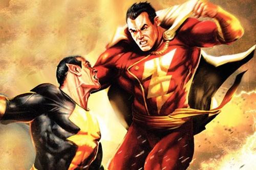 Captain Marvel and Black Adam