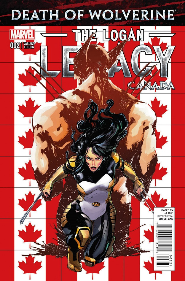A Look at 'Death of Wolverine: The Logan Legacy #2'