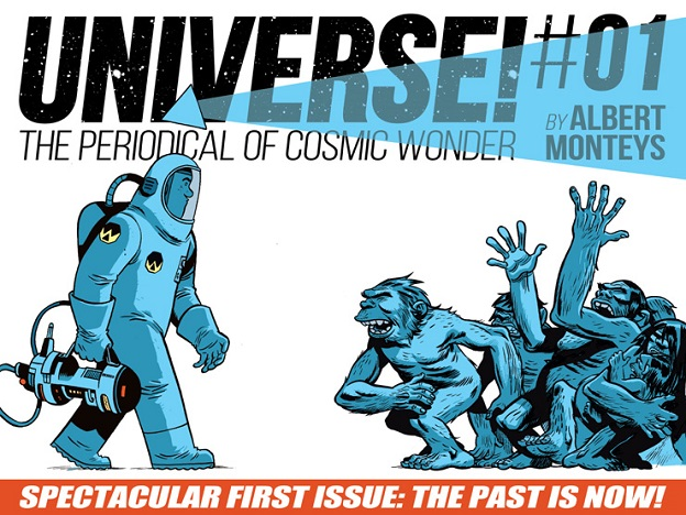 "Panel Syndicate Adds ""Universe! #1"""