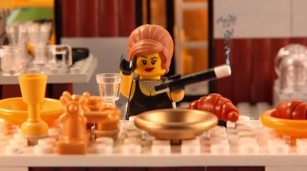 LEGO Breakfast at Tiffany's