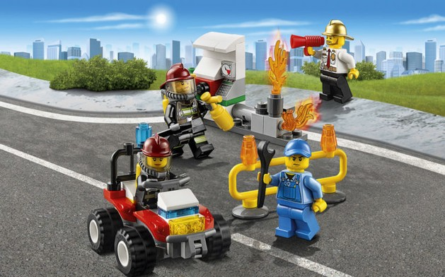 LEGO Firefighters