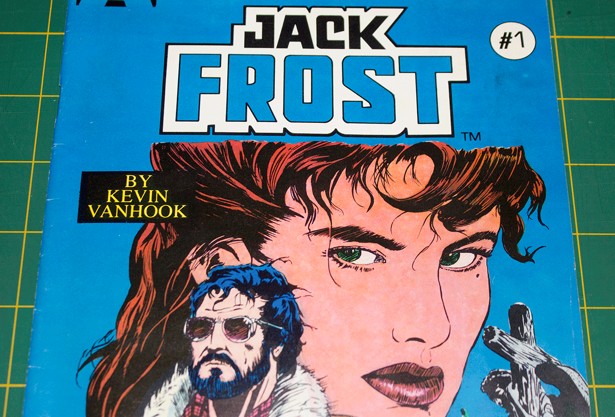 Jack Frost #1 Cover