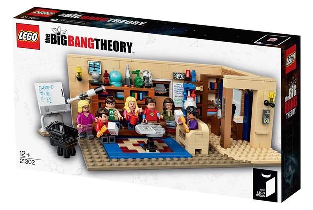 Big Bang Theory Packaging