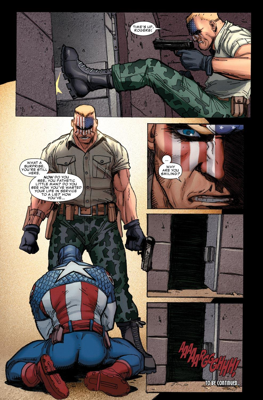 Ultimate Comics Captain America by Jason Aaron