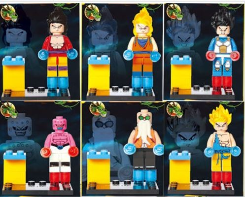 Dragonball Z bootleg LEGO
