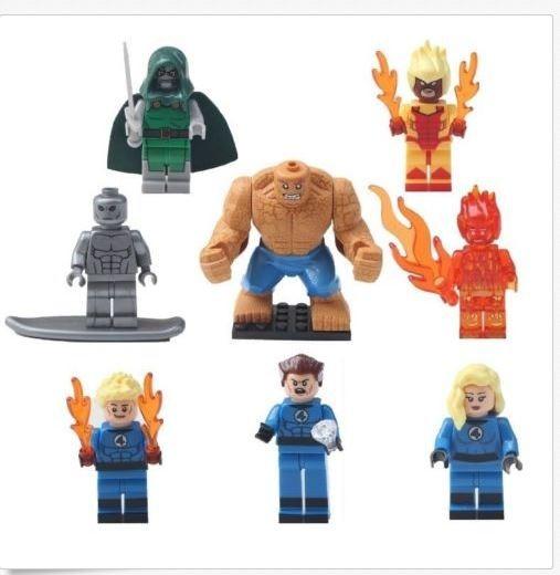 Fantastic Four Bootleg LEGO