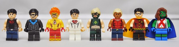 Young Justice Bootleg LEGO
