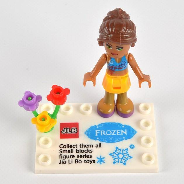 Anna Bootleg LEGO Minidoll