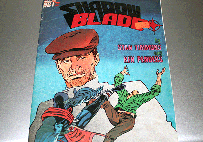 Shadow Blade #1 Cover, by Stan Timmons and Ken Penders