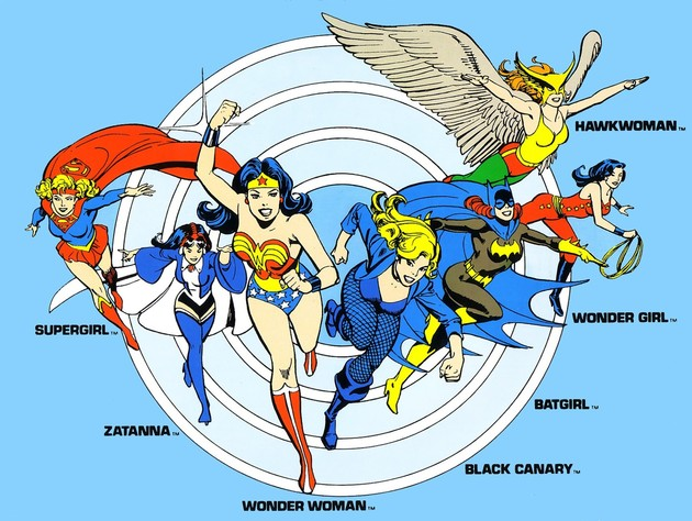 Heroines of DC Comics