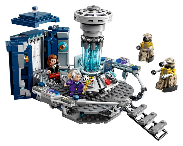 Doctor Who LEGO Interior
