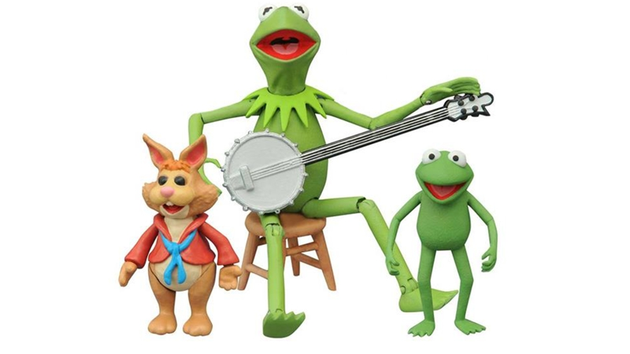 Kermit the Frog, Robin the Frog, Bean Bunny