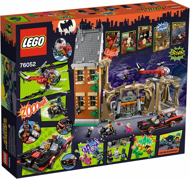 LEGO Batcave Packaging