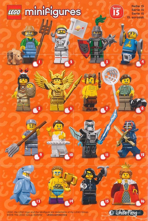 Minifigures Checklist