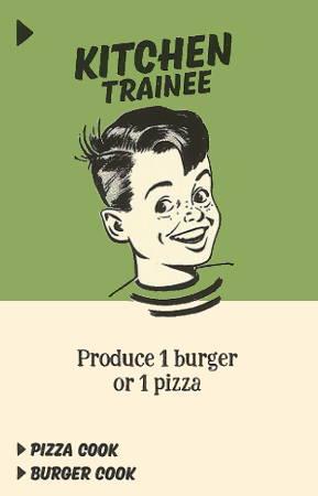 food chain magnate kitchen trainee
