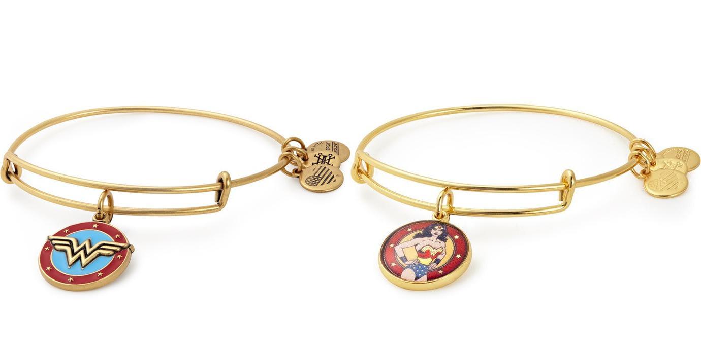 Alex and Ani Wonder Woman bracelets