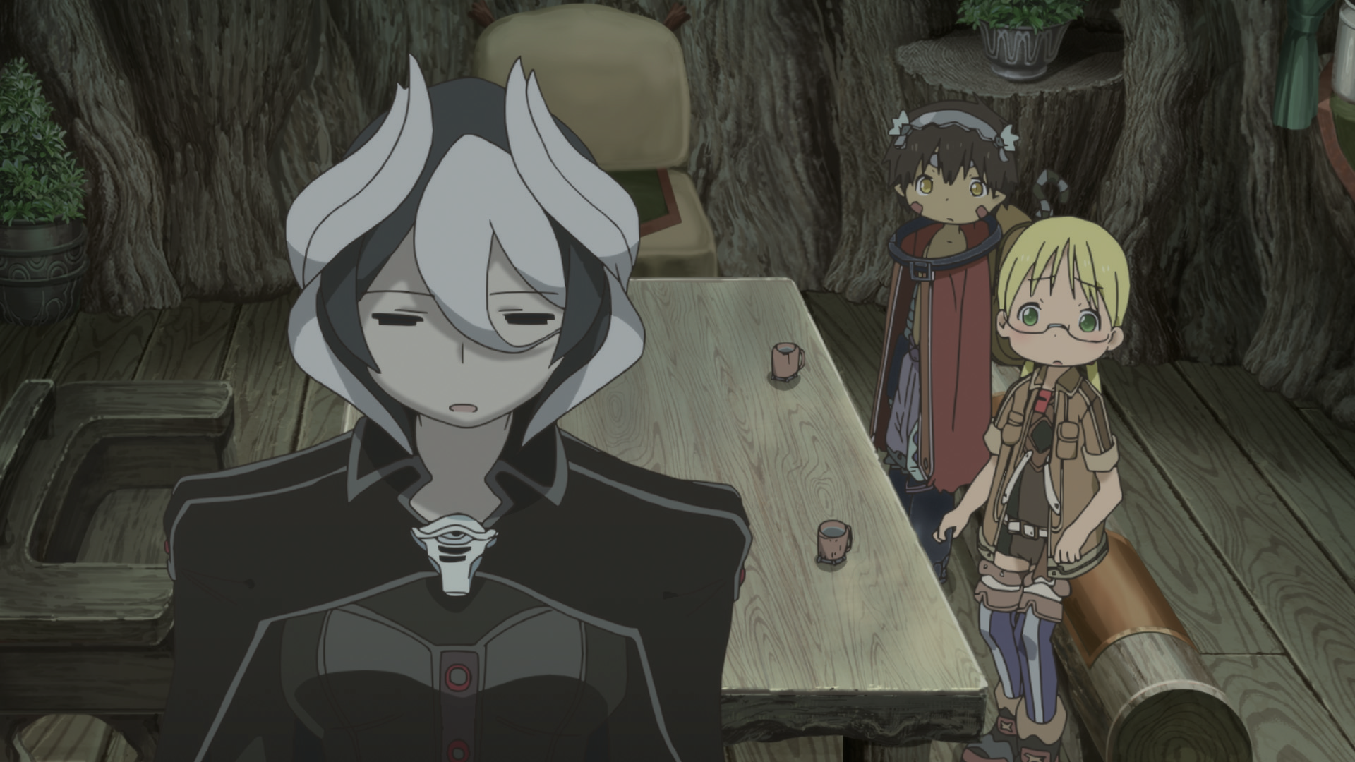 Made in Abyss' Riko, Reg and Ozen