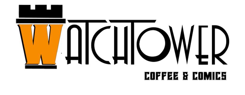Logo: Watchtower Coffee & Comics