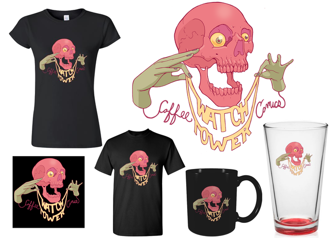 Kickstarter Reward. Designed by Chris Bodily (Hatrobot)